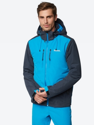 Water Repellent Jacket in a Colour Blocking Design
