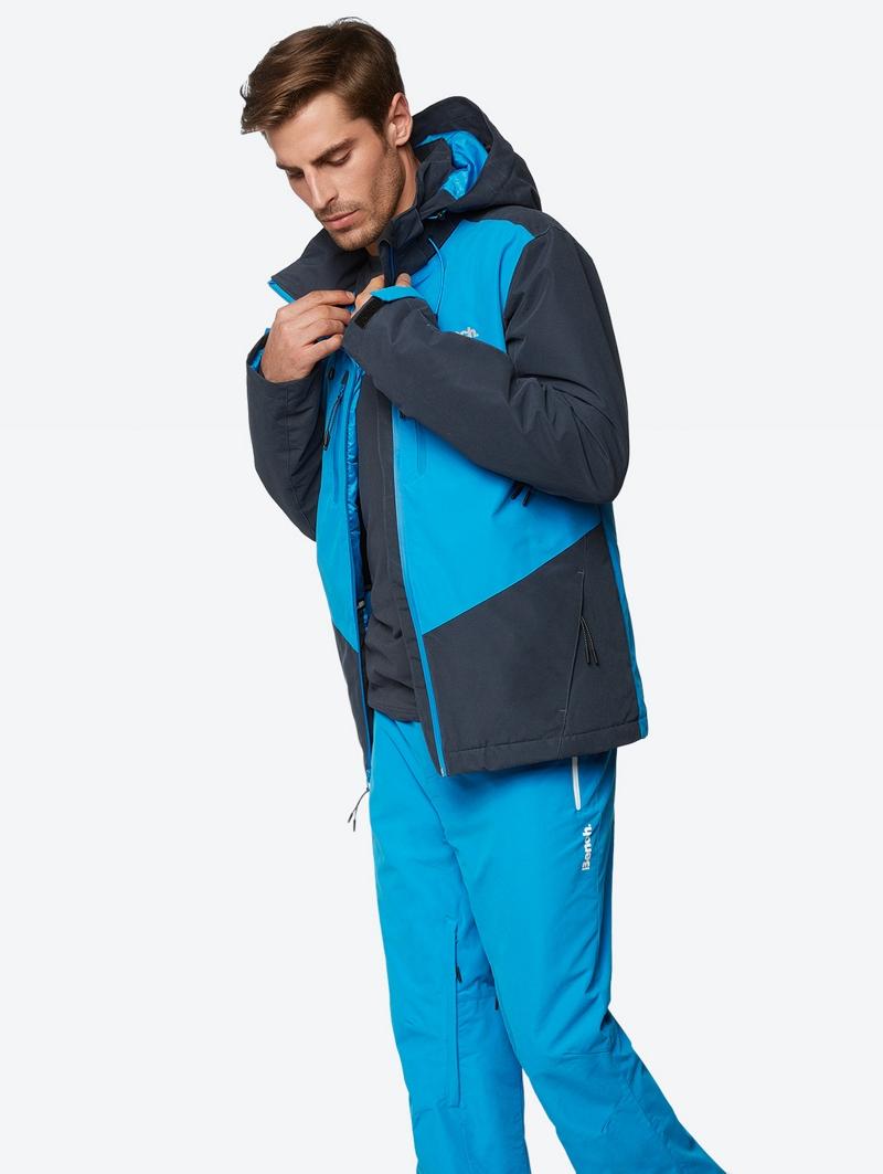 Bench Blau Mens Jacket Größe S