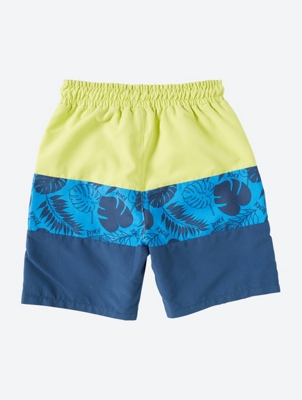 Colourful Swim Shorts with Block Stripes