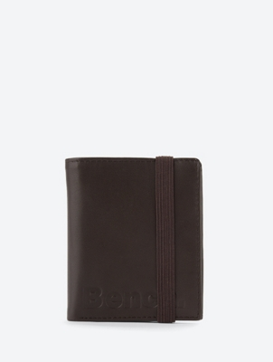 Small Wallet with Elastic Band Closure