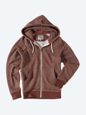 Marl Hoodie Constitute with Pockets