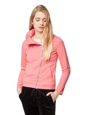 Jacket with Asymmetrical Zip