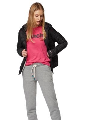 Wasserabweisende Jacke mit Kapuze mit Bench-Print
