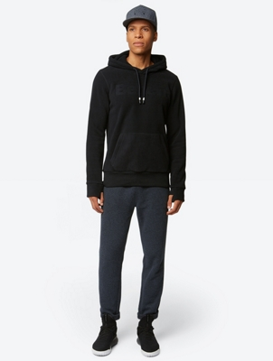 Fleece Hoodie with Bench Logo on the Chest