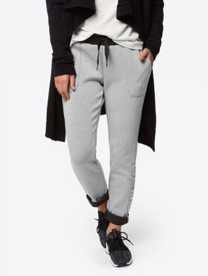 Sweat Pants with Contrasting Coloured Waistband