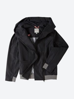 Jacket withWide Cut Hood