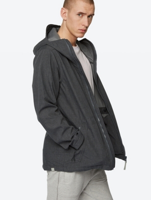 Water-Repellent Hooded Jacket Smallrunner