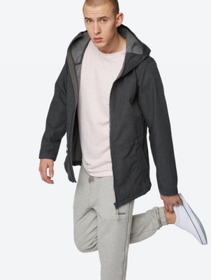 Water-Repellent Hooded Jacket Smallrunner