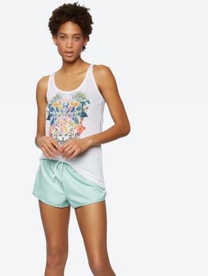 Light Vest with Floral Print