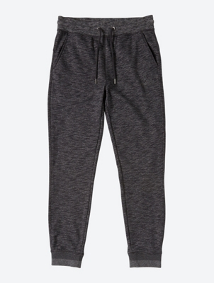 Marl Sweatpants with Rubberised Print