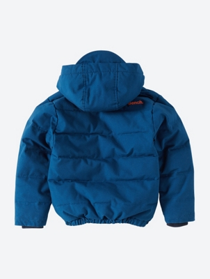 Quilted Hooded Jacket with Contrast Lining