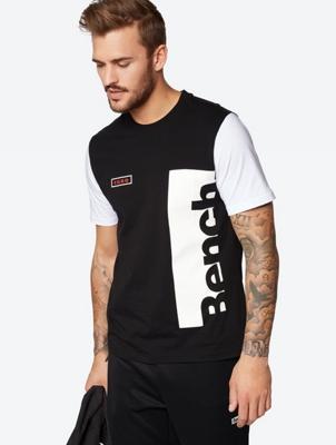 T-Shirt mit farblich abgesetzten Ärmeln