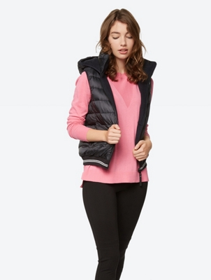 Reversible Water Repellent Down Gilet