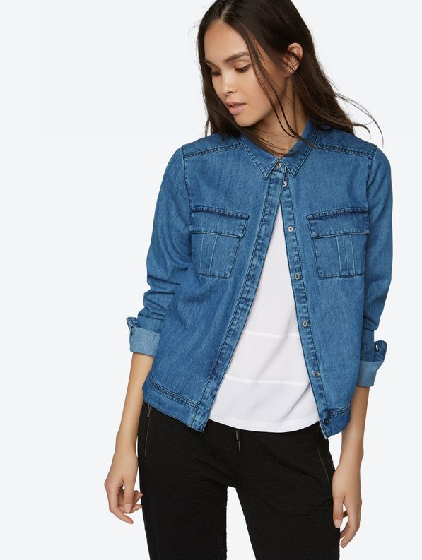 Bench | Lightweight Denim Jacket with Breast Pockets | Official ...