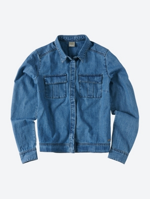 Lightweight Denim Jacket Dweller with Breast Pockets