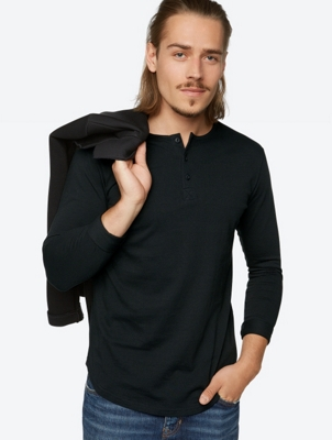 Long-Sleeve Dynamism with Button Pocket
