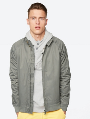 Harrington Jacket Easement with Stand-Up Collar