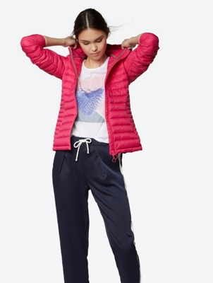 Water Repellent Down Jacket with Hood