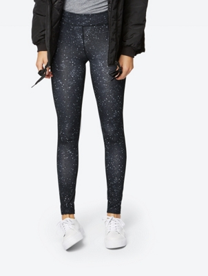 Leggins with All Over Pattern