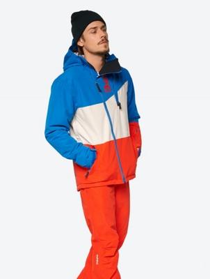 Waterproof Ski Jacket in a Block Design