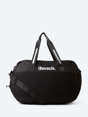 Small Gym Bag with Shiny Bench Print