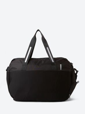 Small Gym Bag With Shiny Bench Print