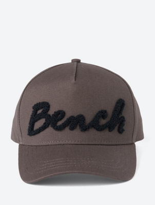 Cap with Structured Logo