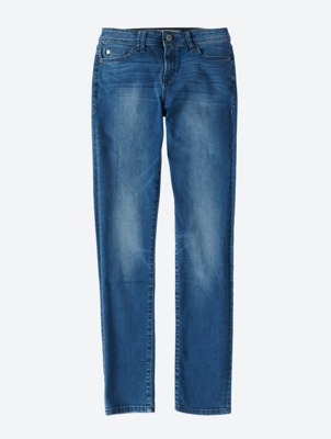 Used Look Slim-Fit Jeans