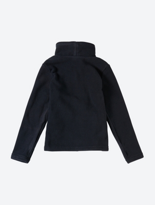 Fleece Jacket with Bench Logo on the Standing Collar