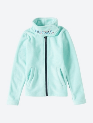 Fleece Jacket with Colourful Bench Embroidery on the Collar