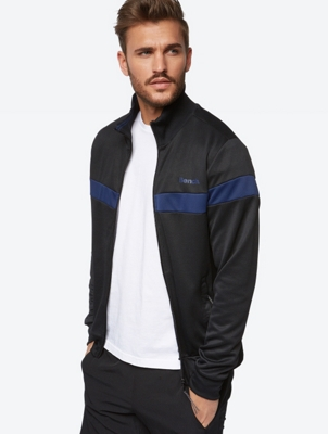 Track Jacket with Contrast Stripe