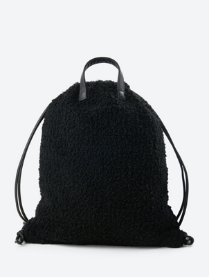 Gym Bag in Bouclé Design