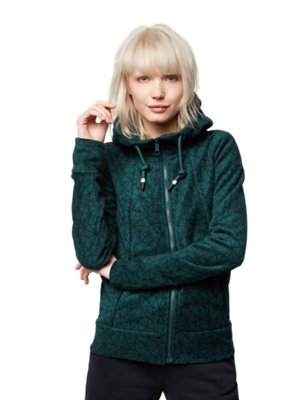 Fleece Jacket with All-Over Pattern