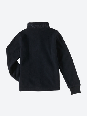 Fleece Jacket with Double Zip on the Collar