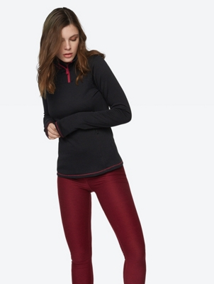 Breathable Long Sleeve with Merino Wool