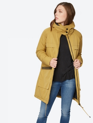 Oversized Coat with Removable Hood