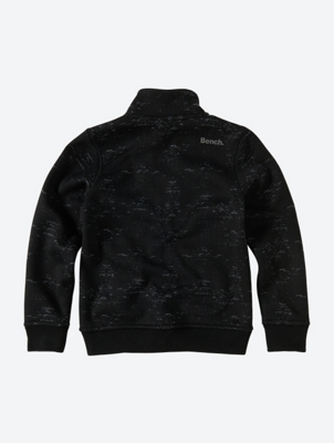 Patterned Track Jacket with Cosy Fleece Lining