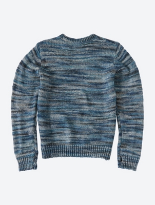 Crew Neck Jumper with Thumb Holes