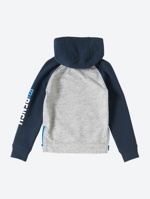 Melange Hoodie with Kangaroo Pocket