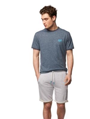 T-Shirt mit Bench-Print auf der Brust