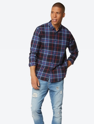 Shirt in a checked pattern