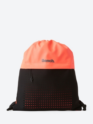 Drawstring Bag with Pocket on Front