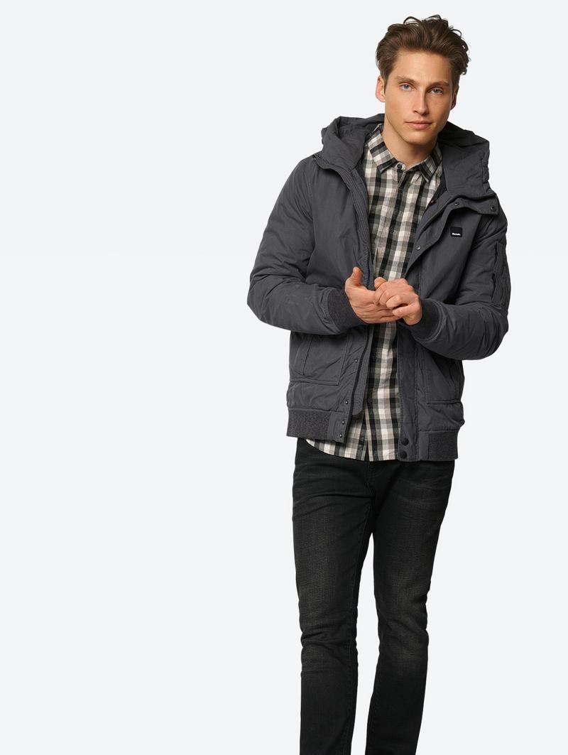 Bench Grau Mens Jacket Größe Xxl