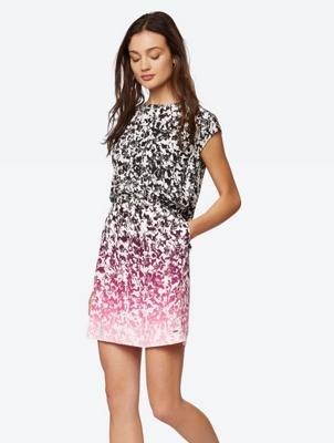 Colour Gradient Patterned Dress
