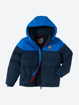 Water Repellent Jacket in Colour Block Style