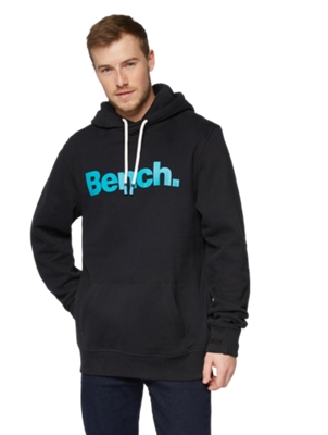 Hoodie with Bench Print on the Chest