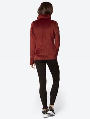 Fleece Jacket with Standing Collar