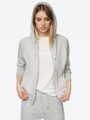 Fine Knit Cardigan with Hood