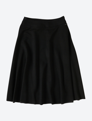Ausgestellter Midi-Skirt