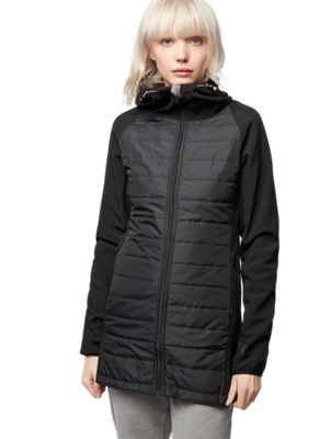 Water Repellent Jacket in a Quilted Look